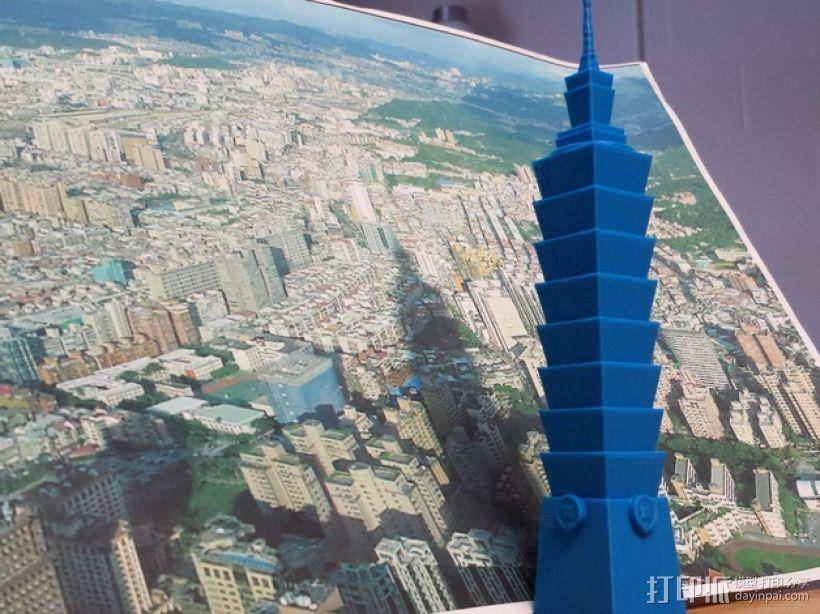 台北101大楼 3D模型  图1