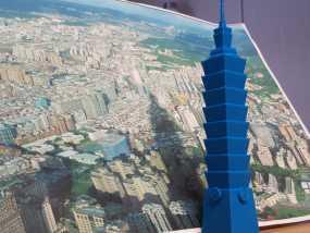 台北101大楼 3D模型