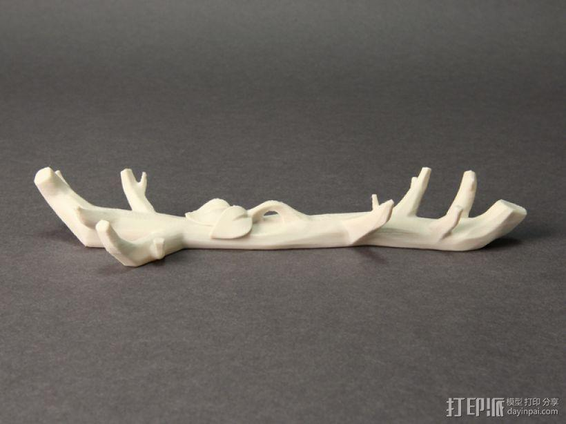3D打印DLY雪花风铃 3D模型  图1