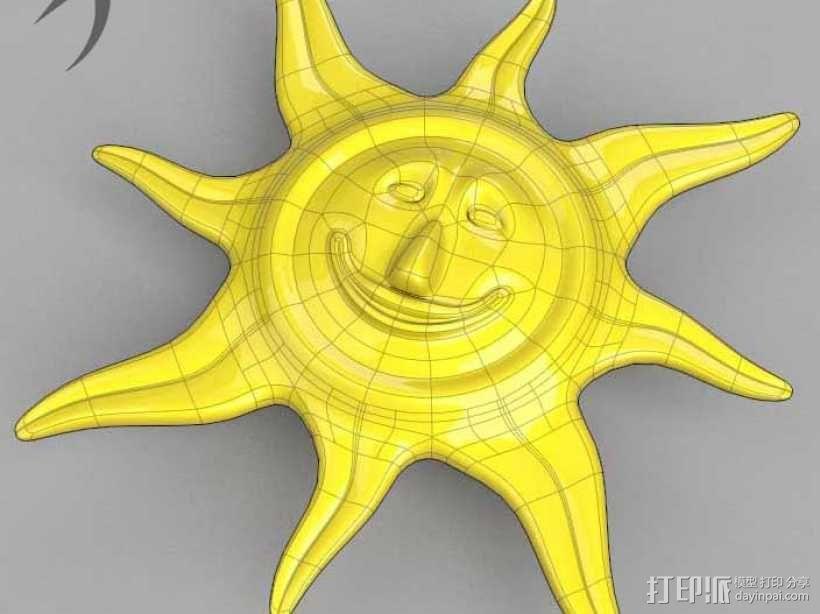 珠宝(太阳神) 3D模型  图1