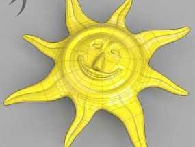 珠宝(太阳神) 3D模型