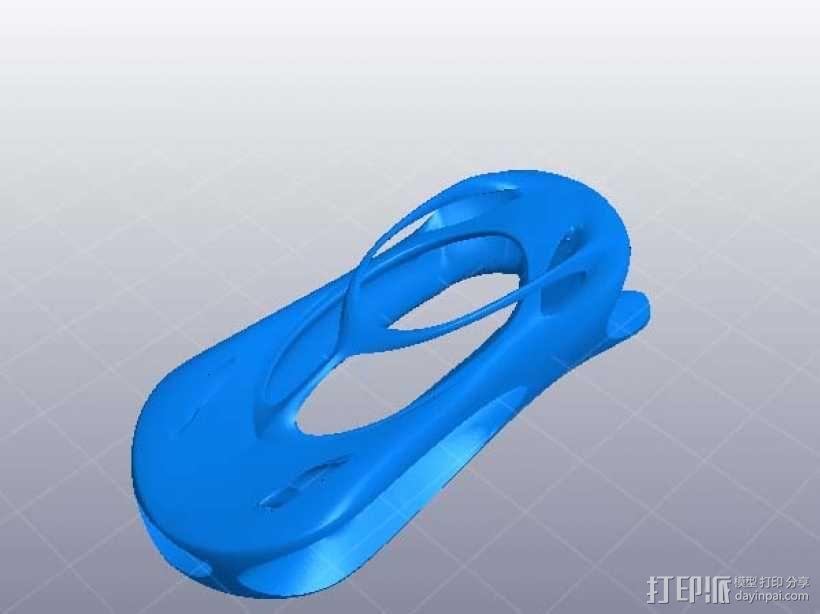 超炫汽车外形 3D模型  图1