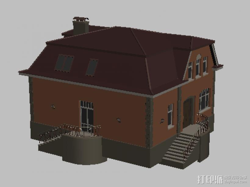 楼房 3D模型  图1