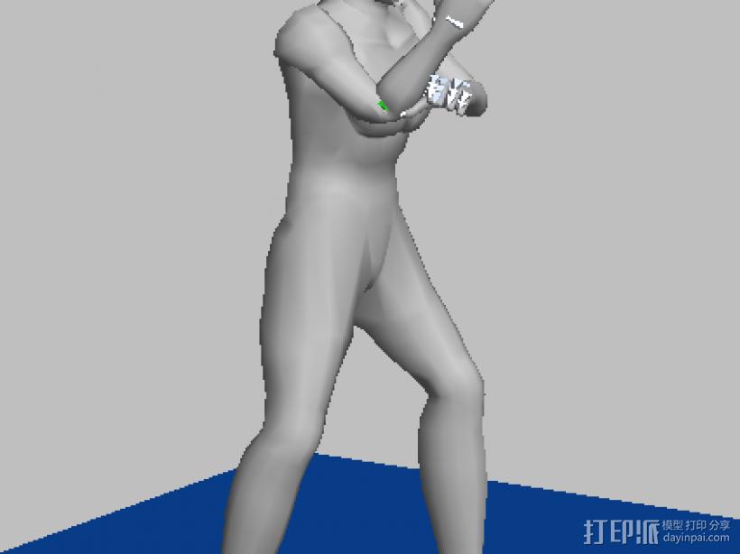 奥特曼 3D模型  图1