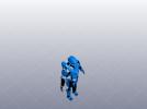 机器人战服 3D模型 图1