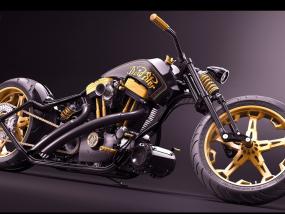 超酷摩托车 3D模型