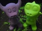 小牛牛牛魔王可爱版金牛座3D打印模型磐纹出品 3D模型 图1