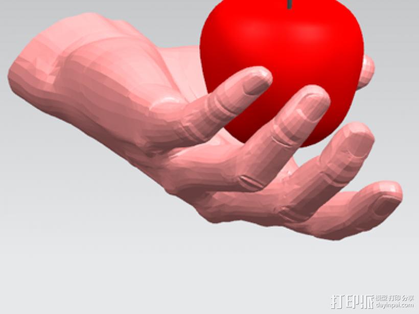 仿真手 3D模型  图3
