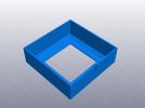 3D打印机性能测试 XY轴机械谐振测试 3D模型 图1