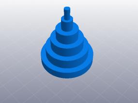 3D打印机性能测试 尺寸精度测试 3D模型