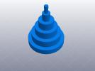 3D打印机性能测试 尺寸精度测试 3D模型 图1