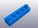 3D打印机性能测试 负空间公差测试 3D模型 图1