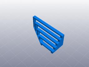 3D打印机性能测试  桥接表现测试 3D模型
