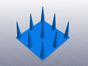 3D打印机性能测试 正空间性能测试 3D模型