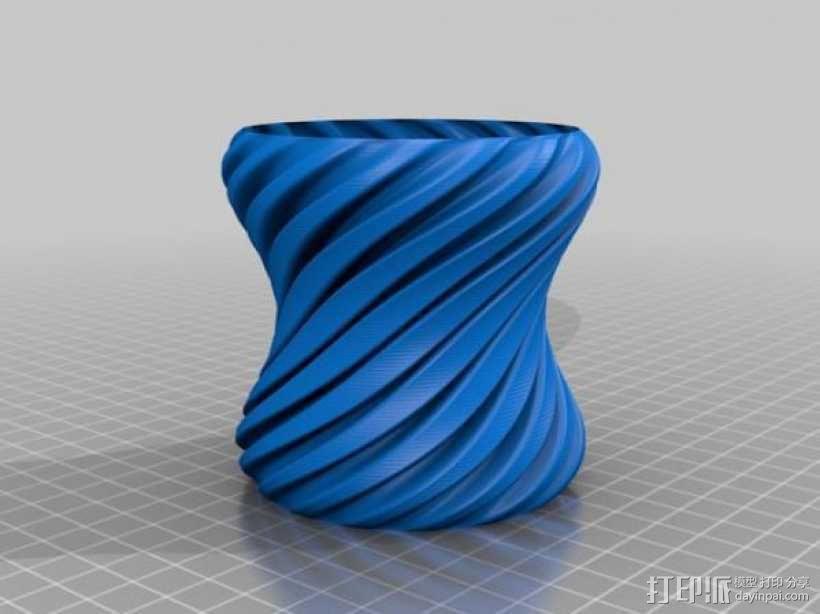 花瓶 3D模型  图1