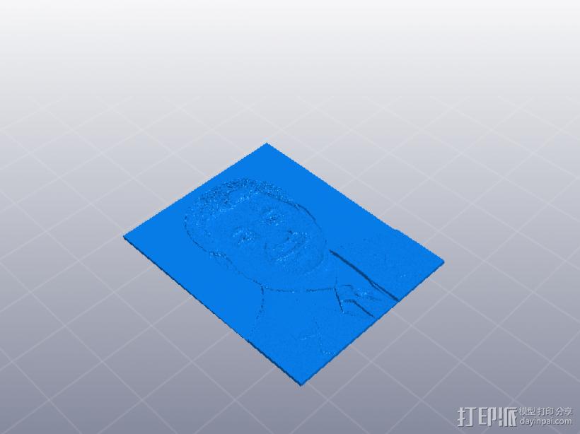 习大大 平面模型 3D模型  图1