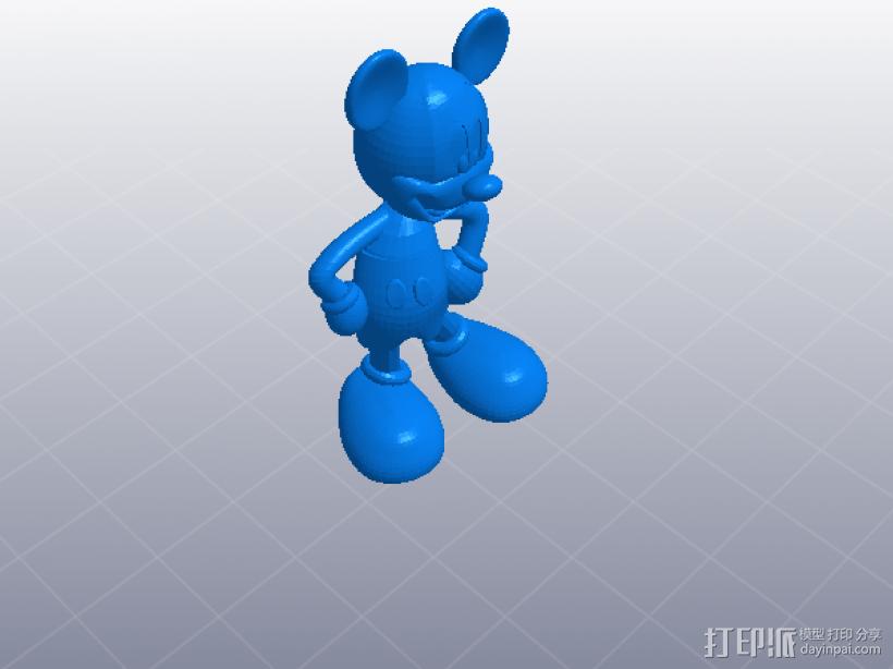 米老鼠 模型 3D模型  图1