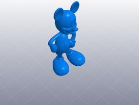 米老鼠 模型 3D模型