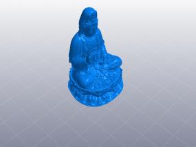 观音坐莲绝品 3D模型