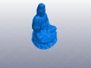 观音坐莲绝品 3D模型 图1