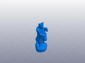 济公 精品模型 3D模型