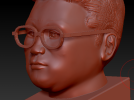 王胖胖本人自肖像 3D模型 图1