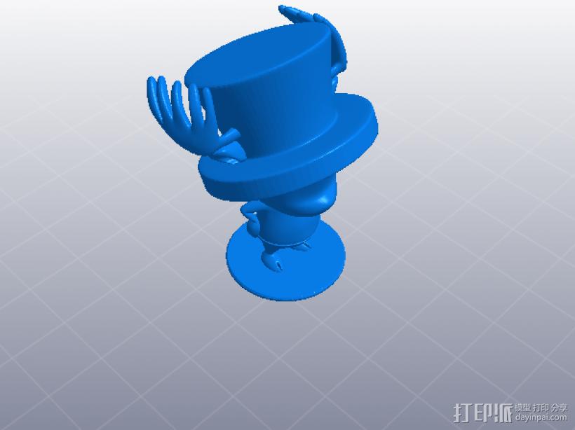 海贼王-乔巴 Tony Tony Chopper 3D模型  图1