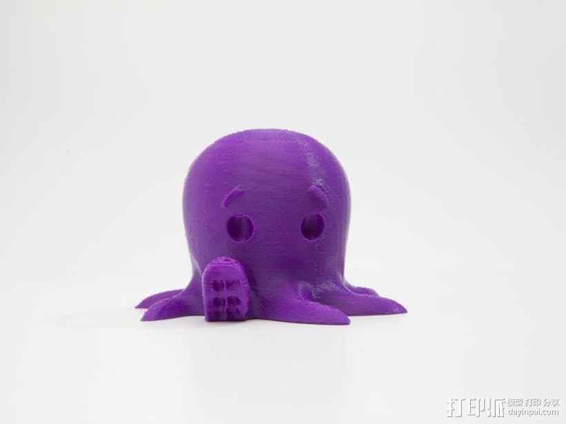 小章鱼 3D模型  图1