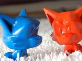 地鼠 3D模型