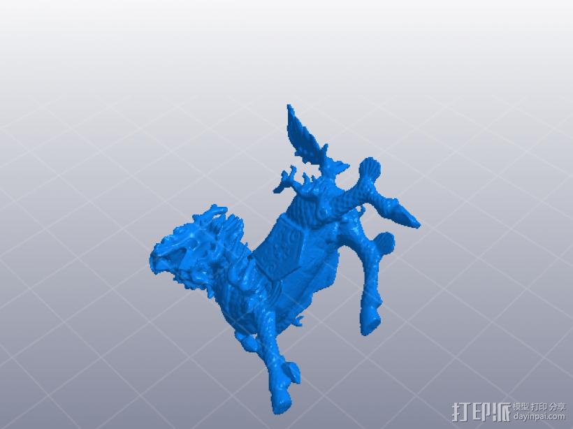 吉祥 麒麟 3D模型  图1