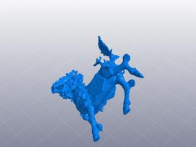 吉祥 麒麟 3D模型