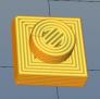 简单的乐高1x1x1小方块 3D模型 图1