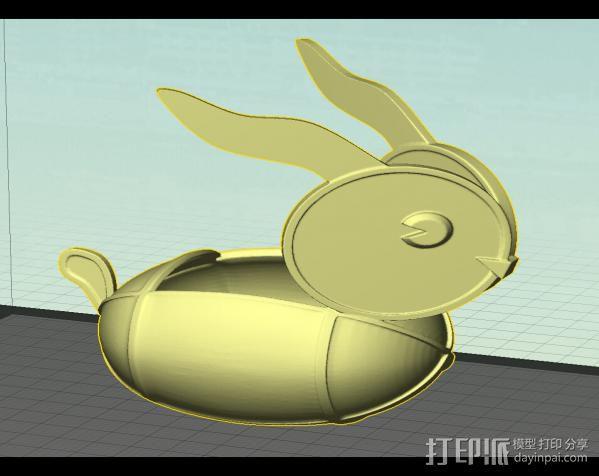 兔子灯 3D模型  图1