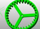 机械件 3D模型 图1