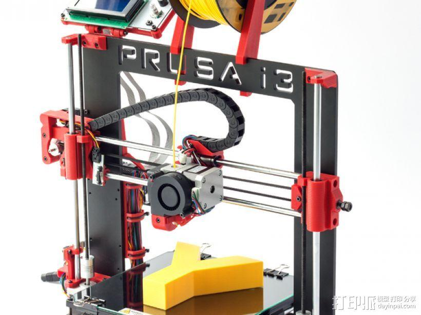Prusa i3打印机 3D模型  图1