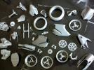 组装摩托 3D模型 图2