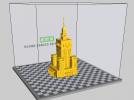 文化科学宫 3D模型 图1