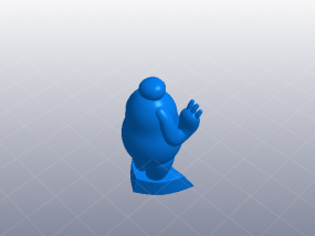 超能陆战队大白胖子 3D模型
