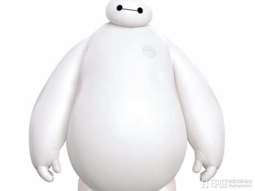 超能陆战队大白胖子玩偶 3D打印制作  图6