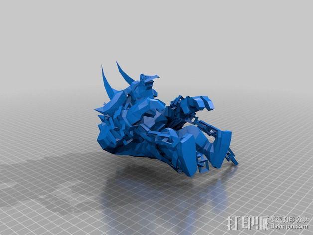Alistar 3D模型  图1