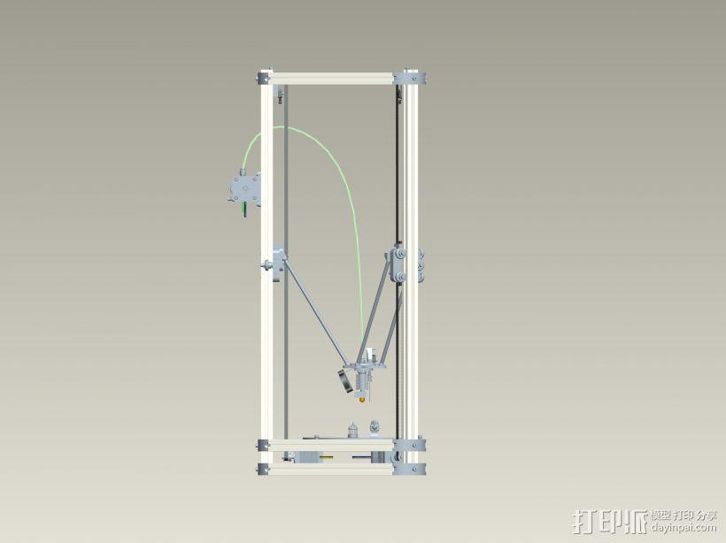 K800 3D打印机3D模型 3D模型  图2