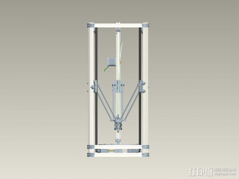 K800 3D打印机3D模型 3D模型  图1