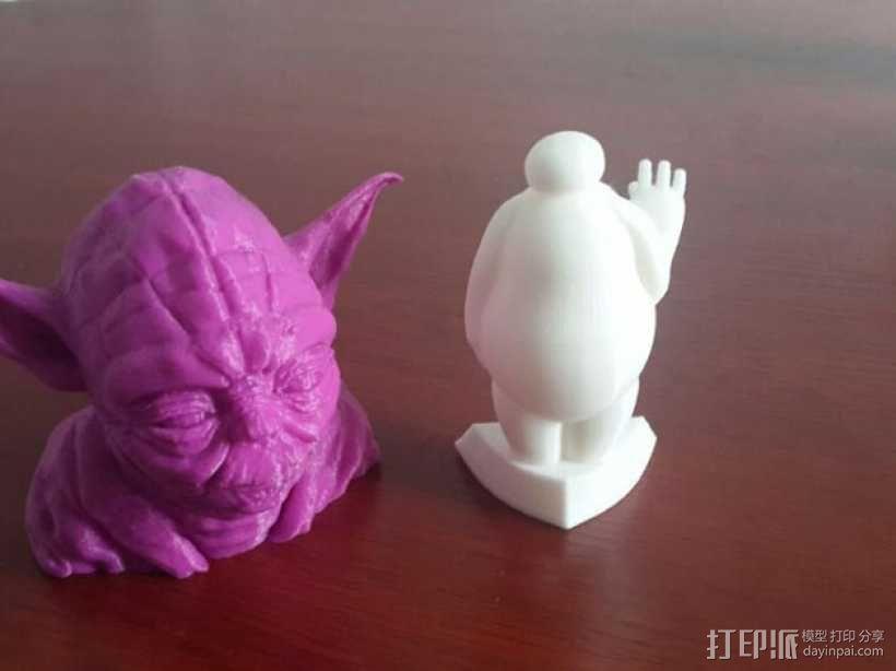 超能陆战队大白胖子玩偶 3D打印制作  图1