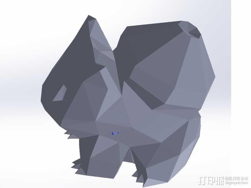 水箭龟 3D模型  图1
