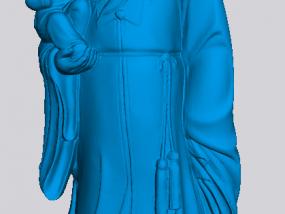 福禄寿 3D模型