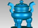 秦鼎 3D模型 图1