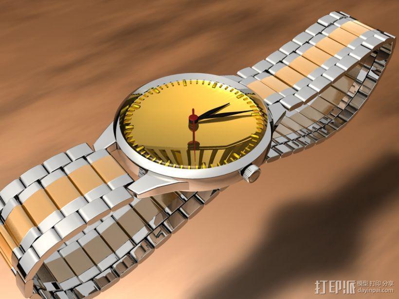 手表-C4D模型 3D模型  图1