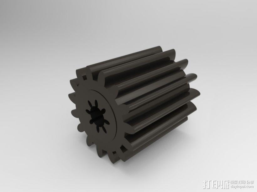 小齿轮 3D模型  图1