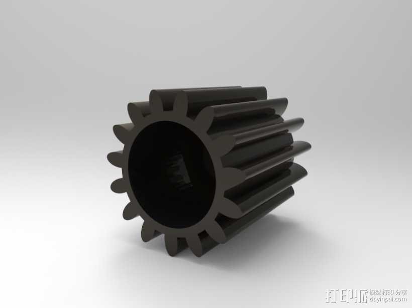 小齿轮 3D模型  图2