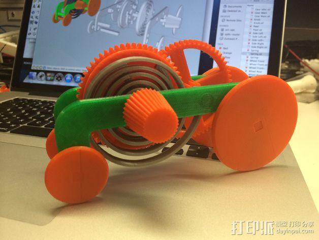 迴力車 3D模型  图1